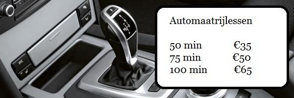 automaatrijlessen